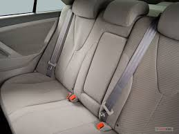2007 toyota camry rear seat