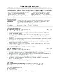 Software Support Engineer Amusing Resume Sample For Technical