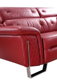 red leather couches red leather loveseat for