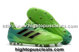 good adidas ace 17 1 leather fg soccer cleats solar green core black core green