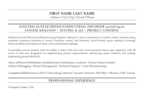 Click Here To Download This Industrial Engineer Resume Template