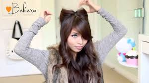 Cat Hair Style diy halloween costume ideas bear & cat ears hairstyle & makeup 6247 by wearticles.com