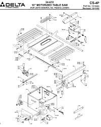 delta 670 table saw wiring diagram delta diy wiring diagrams delta service net  table saw