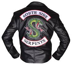 cole sprouse southside serpents black leather jacket