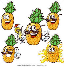 pineapple with sunglasses clipart. set cartoon character - happy pineapple in sun glasses. vector clip-art illustration on with sunglasses clipart