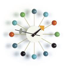 winsome midcentury wall clock  mid century modern atomic wall