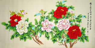 chinese peony painting artisoo com hand painted oil