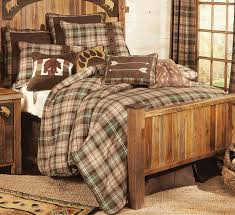 affordable a black forest decor exclusive shades of beige brown and pine blend in this tartan plaid collection your bedroom into a woodsy retreat bed with
