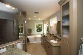 Master Bathroom Master Bathrooms Feature Elegant Master Bath With Glass Shower