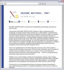 Resume Writers Ink Home