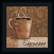 Coffee Kitchen Theme Decor Details About Espresso By Jo Coffee Sign Kitchen Daccor Framed Art