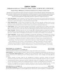 Resume Sample Project Manager Pmp Certified Project Manager Resume
