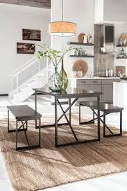 gg baxton studio 5 piece modern dining set 2. joring - dark brown rect drm table set (set of 3). 3 piece dining gg baxton studio 5 modern 2 u