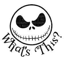 Nightmare before christmas.biz tim burton's nightmare before christmas merchandise jack skellington pumpkin king, sally, oogie, lock, shock and barrel. Jack Skellington Svg Nightmare Before Christmas Halloween Etsy