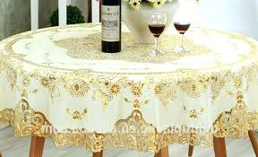 round lace tablecloth inch plastic tablecloths designs rectangle