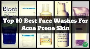 skin best 10 best acne face washes cleansers of 2017 which do you need best makeup remover for acne e skin vegan makeup remover wipes