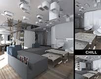 Дизайн интерьера жилого пространства Дипломная работа Наалы Гогуа Дизайн проект интерьера жилого помещения concept flat