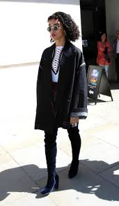 england style steps: fka twigs steps up her cool look for fall bbc  radio london