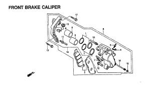 1996 honda magna 750 vf750c front brake caliper parts best oem 1996 honda magna 750 vf750c front brake caliper parts best oem front brake caliper parts for 1996 magna 750 vf750c bikes