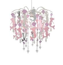Unicorn Lampshade Children Ceiling Light Princess Horse Girls Pink