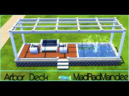 arbor deck sd build sims 4 you