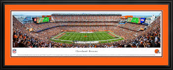 on cleveland browns wall art with cleveland browns panoramic photo 13 5 x 40