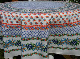 image of french country round tablecloths image of 70 inch