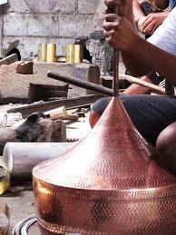 metal chandeliers handmade hammered copper brass pendant hanging lights inter