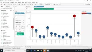 Tableau Custom Charts Lollipop Chart