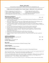 8 Customer Service Resume Objective Memo Heading