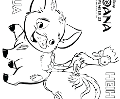 Moana Coloring Pages Free Printable Figswoodfiredbistrocom