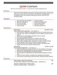 Police Officer Job Description For Resume Bestresume Com
