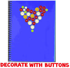 decorating notebooks and binders with ons