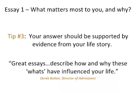"what did you write about for your stanford essays especially for  many candidates make the mistake of not relating to both parts of this question the why here is instrumental while the good essays describe the ""what"