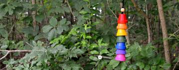 How To Make Wind Chimes Flower Pot Wind Chimes How To Make A Terra Cotta Pot Wind Chime