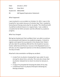 academic appeal letter registration statement  academic appeal letter sap letter jpeg