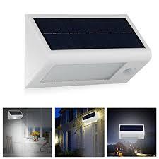 InnoGear 400 Lumen Waterproof Solar Powered Outdoor Motion Sensor Solar Garage Lighting
