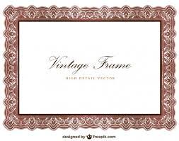 frame design vector. Contemporary Design Vintage Frame Design Free Vector Inside Frame Design F