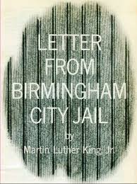 martin luther king s letter from birmingham jail