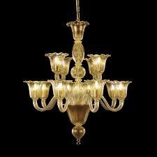 Kristall Kronleuchter Mit Versetzten Leuchten Idfdesign