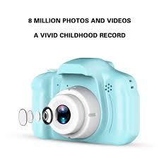 Máy Ảnh Kỹ Thuật Số Trẻ Em UINN X2 Camera Mini Độ Nét Cao Đa Chức Năng Với  Đầu Đọc Thẻ Hỗ Trợ Thẻ Nhớ | Máy Ảnh Lấy Liền