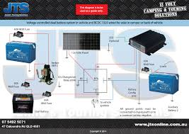 wiring diagrams jamie s touring solutions basic dual battery system isolator includeing anderson to camper aux battery
