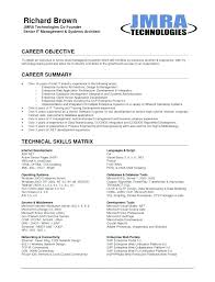 Generic Objective For Resume Impressive Sample Networking Resume Objective Computer Career Mmventuresco