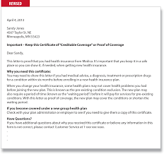 Loss Of Coverage Letter From Employer Hvac Cover Letter Sample