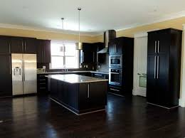 Innovation Dark Wood Floor Kitchen Hardwood Floors For Classy And Elegant Design With Impressive