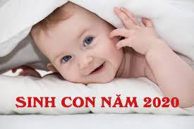 Bảng tính sinh con trai năm 2020 theo lịch vạn niên chuẩn từng milimet