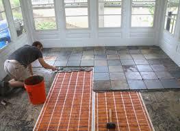 enclosed flooring porch