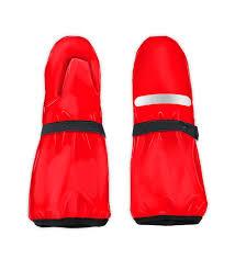 Рукавицы детские, непромокаемые <b>утепленные</b>, цвет красный, <b>р</b> ...