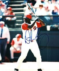 Autographed Signed Photo Dmitri Young Reds Nationals