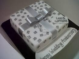 25th Wedding Anniversary Cake Fancycakesbenidorm